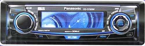 102242 автомагнитола mp3/cd ресивер panasonic cq-c7303wкод